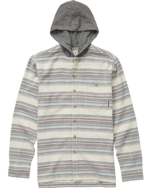 0 Boys' Baja Flannel Shirt  B524NBBA Billabong