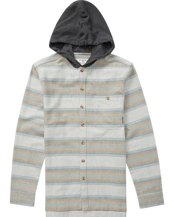 0 BAJA FLANNEL Grey B525QBBF Billabong