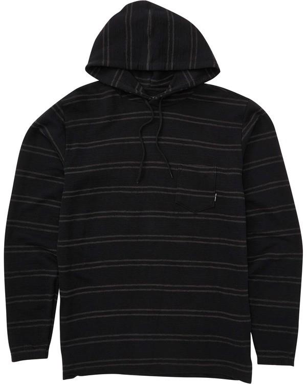 0 Boys' Flecker Cortez Pullover Hoodie Black B640TBFC Billabong