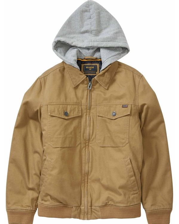 0 Boys' Barlow Till Jacket Pink B704LBAT Billabong