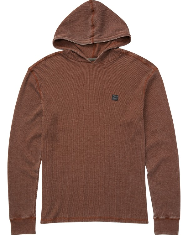 0 Boys' Keystone Pullover Hoodie Brown B901LKEY Billabong