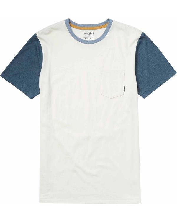 0 Boys' Zenith Short Sleeve Crew Beige B902JZEN Billabong