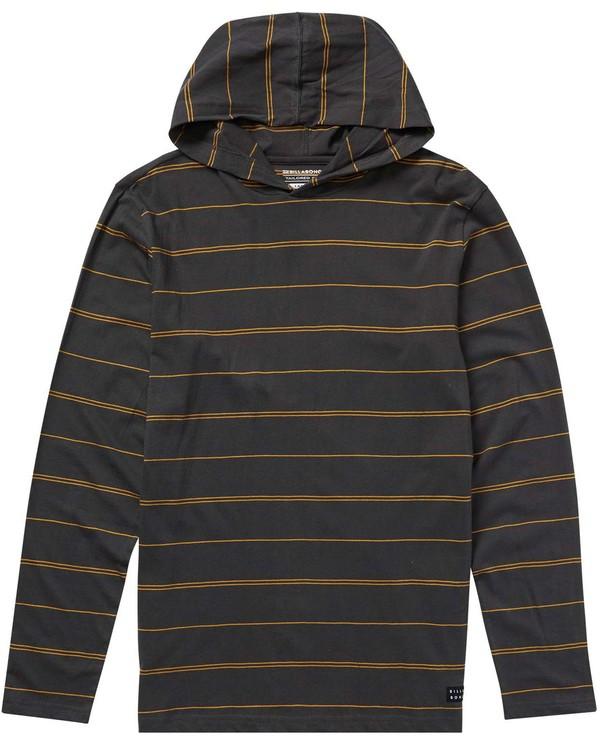 0 Boys' Die Cut Stripe Pullover Hoodie  B906NBDP Billabong