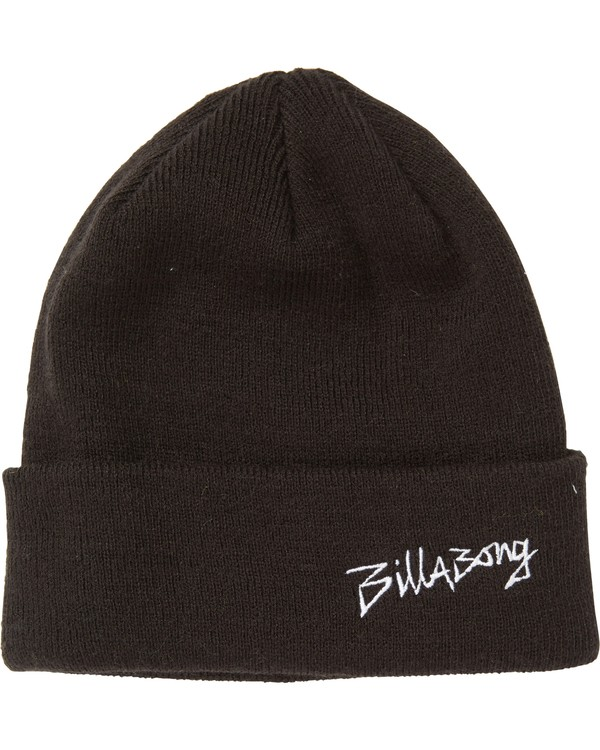 0 Boys' Eighty Six Beanie Black BABNSBES Billabong