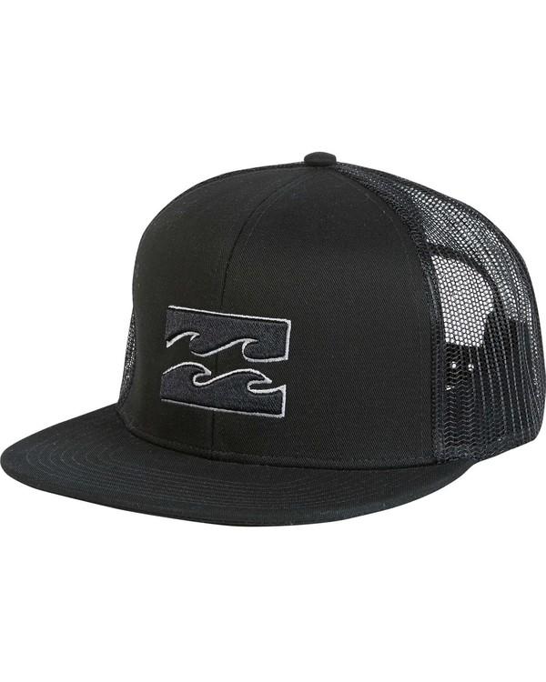 0 Boys' All Day Trucker Hat Grey BAHWNBAD Billabong