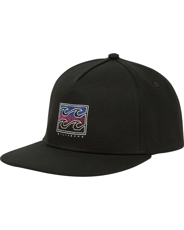 0 Boys' Re Issue Snapback Hat Black BAHWNBRE Billabong
