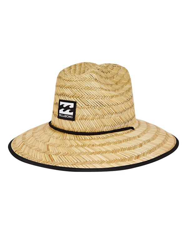 0 Boys' Tides Straw Hat Beige BAHWNBTI Billabong