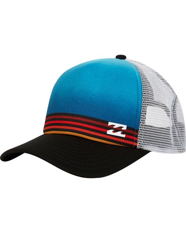 0 Boys' Range Trucker Hat Blue BAHWPBRA Billabong