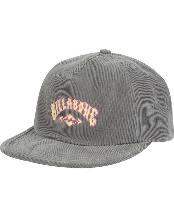 0 Boys' Corduroy Hat Grey BAHWQBRE Billabong