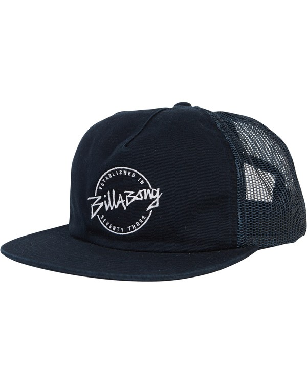 0 Boys' Breakdown Trucker Hat Blue BAHWSBBR Billabong