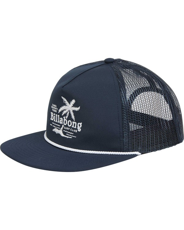 0 Boys' Alliance Trucker Hat Blue BAHWTBAL Billabong