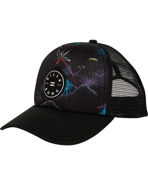 0 Boys' Scope Trucker Hat Black BAHWTBST Billabong