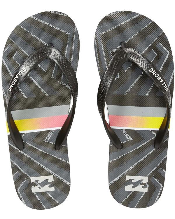 0 Boys' Tides Sandals Black BFOTNBTI Billabong