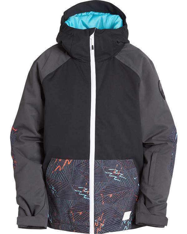 0 Boys' All Day Outerwear Jacket Black BSNJQADI Billabong