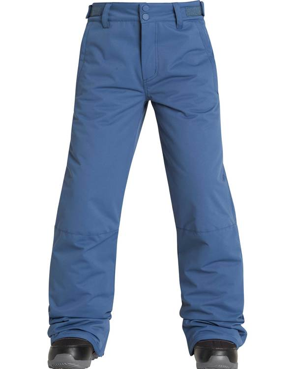 0 Boys' Grom Outerwear Pants Blue BSNPQGRO Billabong