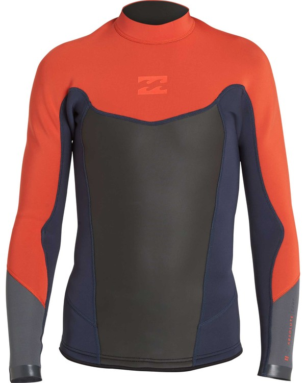 0 2/2 Absolute Long Sleeve Jacket Orange BWSHNBAL Billabong