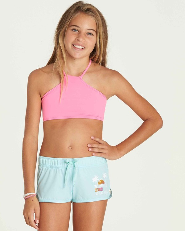 0 Girls' Sol Searcher Volley Boardshort  G101PBSO Billabong