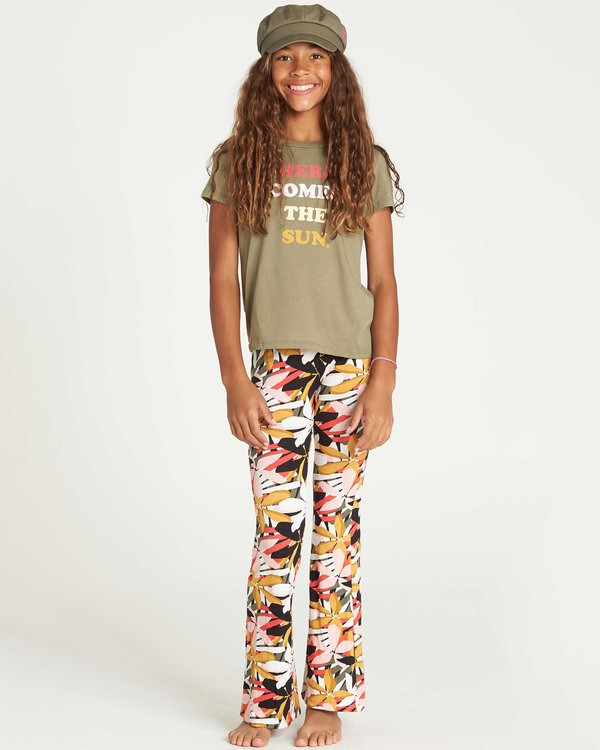 0 Girls' Tell Me Flare Pant  G301PBTE Billabong