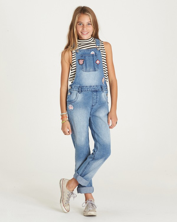 0 Girls' Aloha Yo Overalls  G303LALO Billabong
