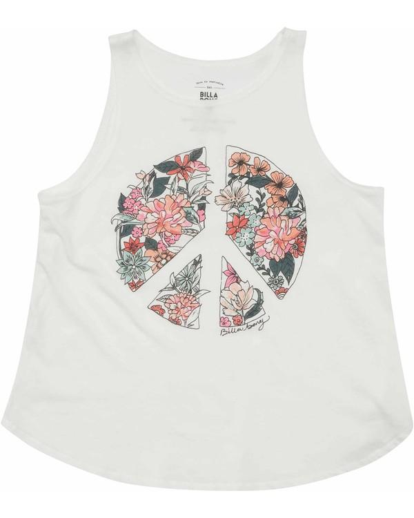 0 Girls' Flower Of Peace Tank  G414MFLO Billabong