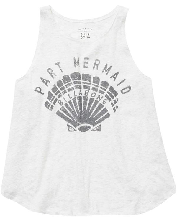 0 Girls' Part Mermaid Shell Tank  G414NBPA Billabong