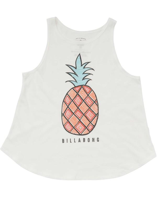 0 Girls' Hey Pineapple Tank  G414PBHE Billabong
