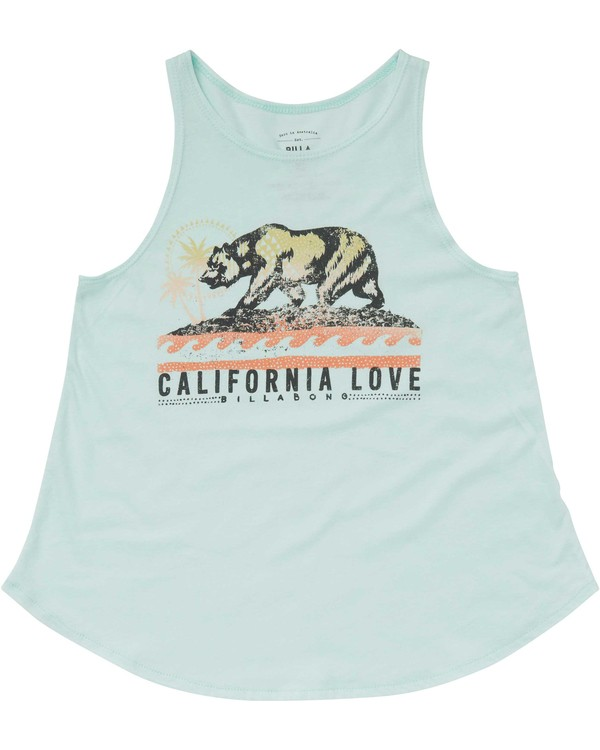 0 Girls' Love Cali Bear Tank  G414PBLO Billabong