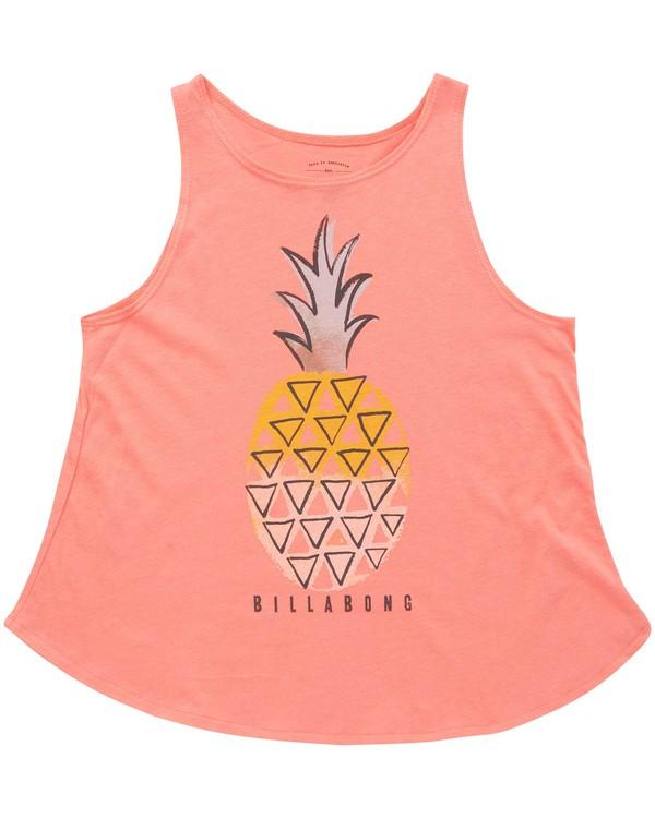 0 Girls' Painterly Pineapple Tank  G414QBPA Billabong