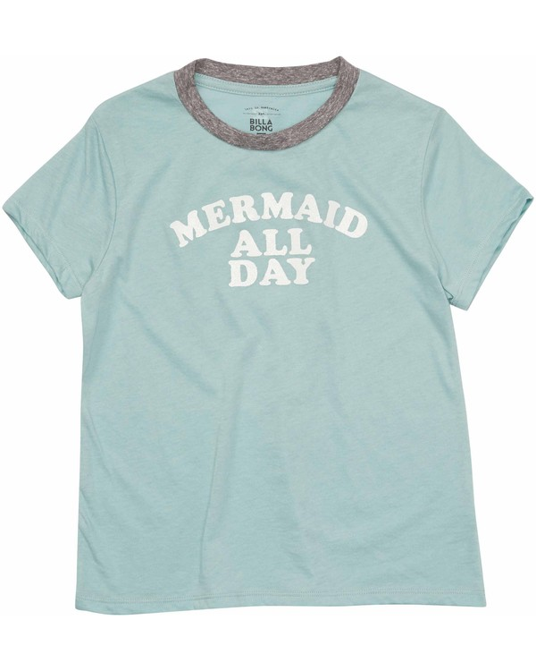 0 Girls' Mermaid All Day Tee  G416MMER Billabong