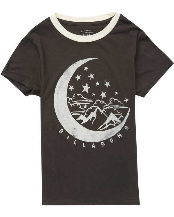 0 Girls' Over The Moon Tee Beige G416QBOV Billabong
