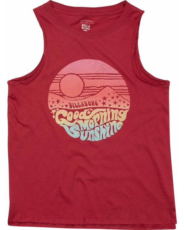0 Girls' Morning Sunshine Tank  G417MMOR Billabong