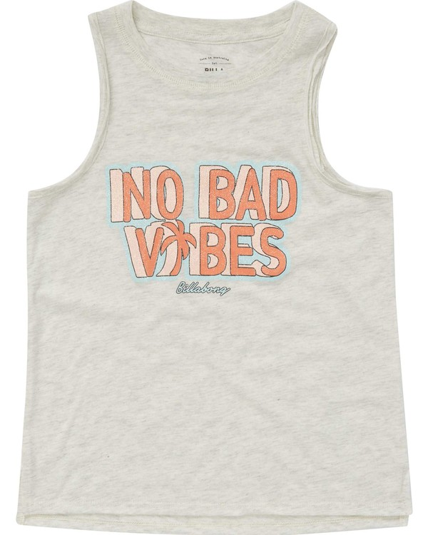 0 Girls' No Bad Vibes Tank  G417PBNO Billabong