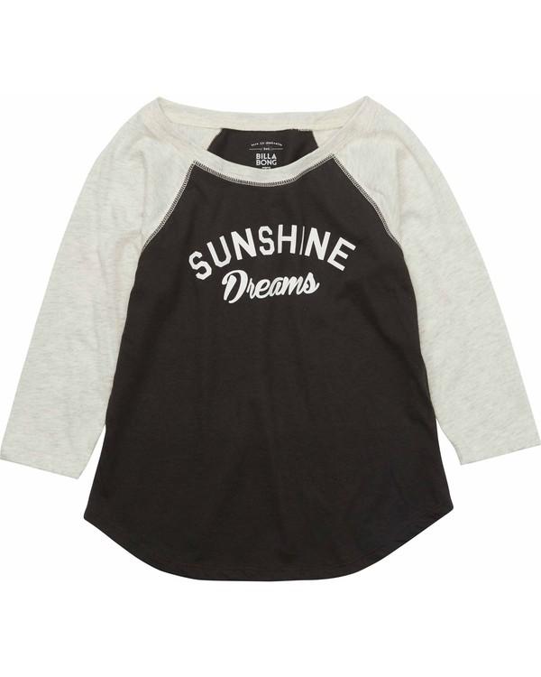 0 Girls' Sunshine Dreams Raglan Tee  G418MSUN Billabong