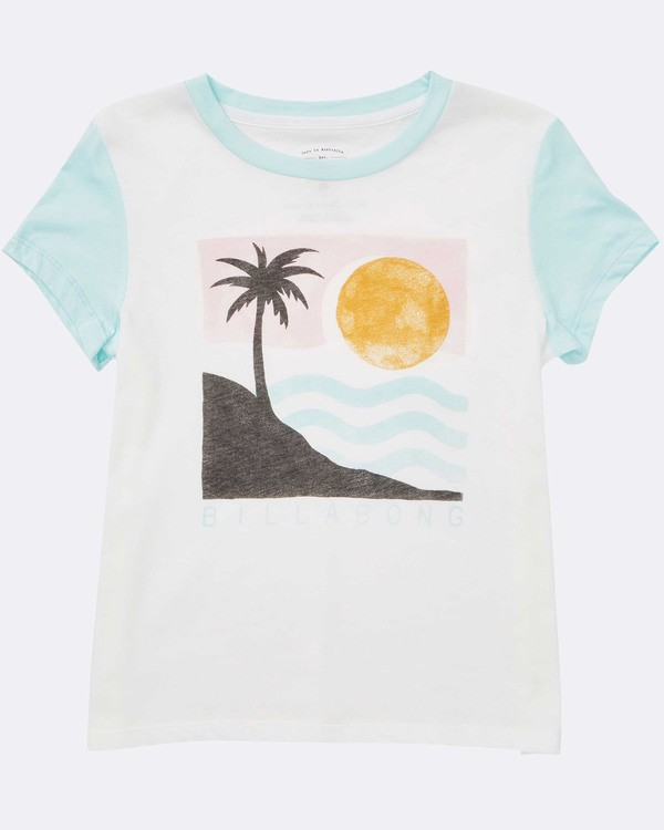 0 Girls' Waves For Days Tee  G422TBWA Billabong