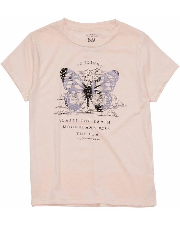 0 Girls' Butterfly Tee  G484MBUT Billabong