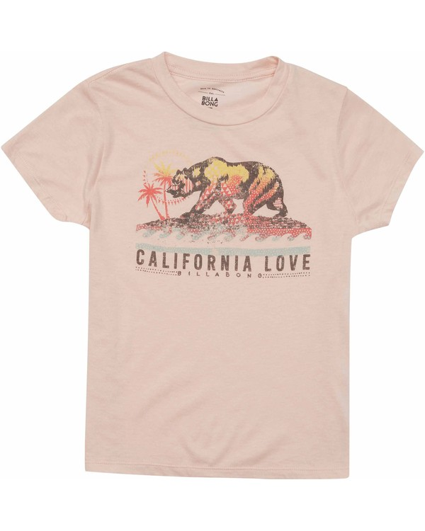 0 Girls' Cali Love Bear Tee  G484MCAL Billabong