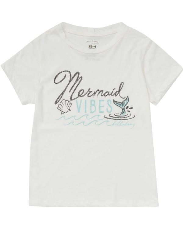 0 Girls' Mermaid Vibes Tee  G484PBME Billabong