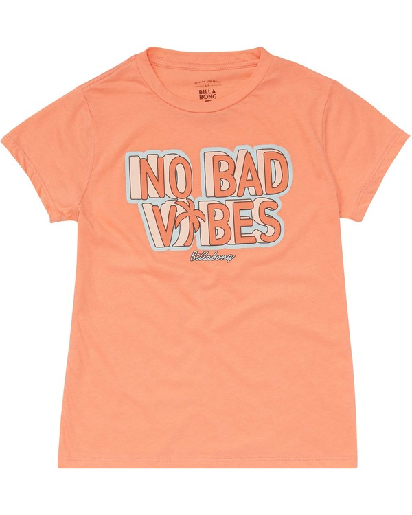 0 Girls' No Bad Vibes Tee  G484PBNO Billabong