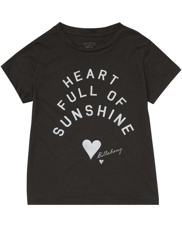 0 Girls' Sunshine Heart Tee  G484PBSU Billabong