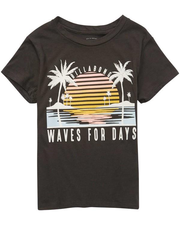 0 Girls' Waves & Sun Tee  G484QBWA Billabong