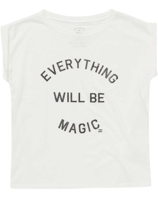 0 Girls' Be Magic Tee Beige G491NBBE Billabong