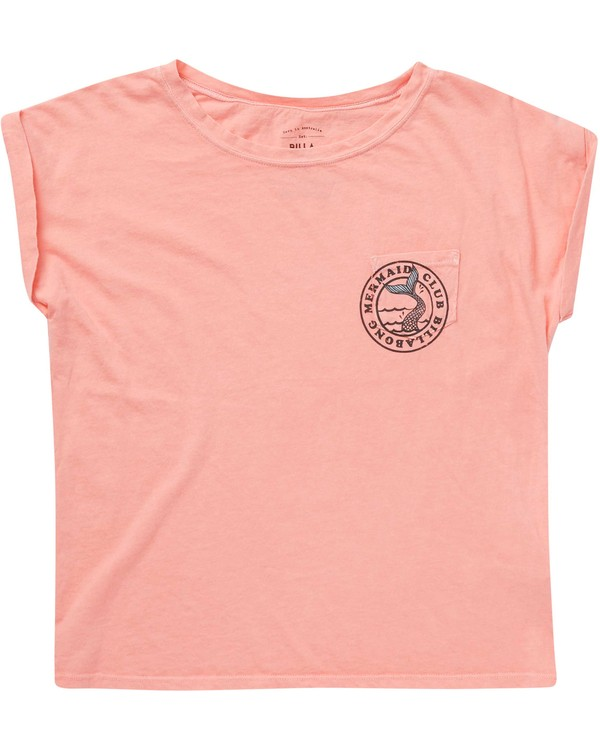 0 Girls' Mermaid Club Tee  G491NBME Billabong
