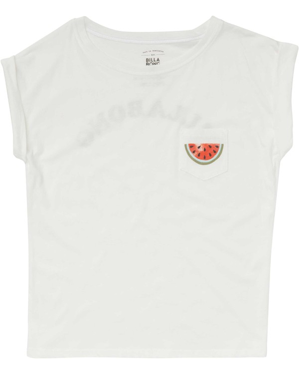 0 Girls' Summer Vibes Tee Beige G491PBSU Billabong