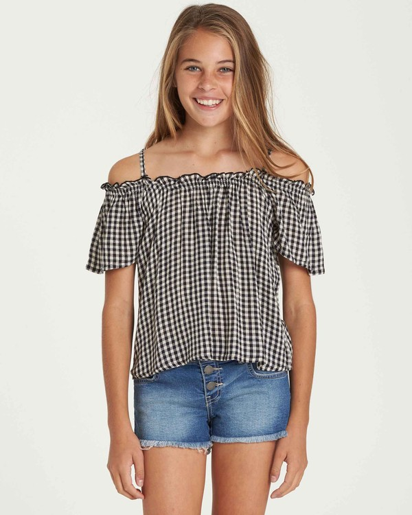 0 Girls' Summer All Year Top Black G501QBSU Billabong