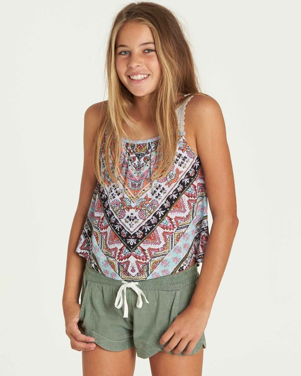 0 Girls' Dream All Day Top  G502PBDR Billabong