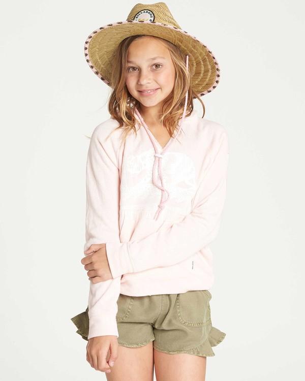 0 Girls' Days Off 2 Hooded Sweatshirt Pink G601TBDA Billabong