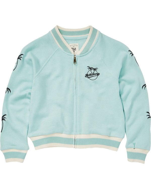 0 Girls' Girls' Rule Zip-Up Sweatshirt  G603PBGI Billabong