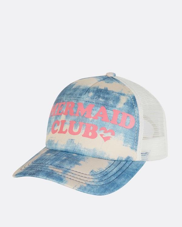 0 Girls' Ohana Trucker Hat Blue GAHWNBOH Billabong