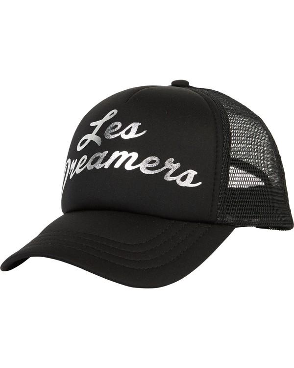 0 Girls' Ohana Trucker Hat Black GAHWQBOH Billabong