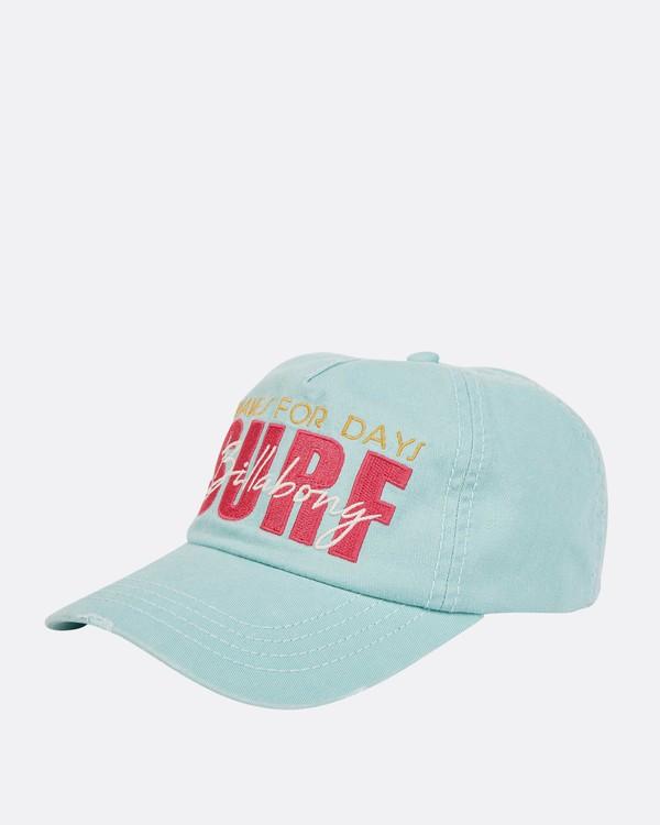 0 Girls' Surf Club Baseball Hat  GAHWQBSU Billabong